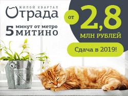 Квартиры от 2,8 млн руб. Сдаем уже в 2019 году! ЖК «Отрада»